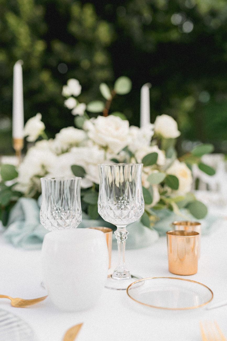 decoration de table lors d'un mariage a Lyon